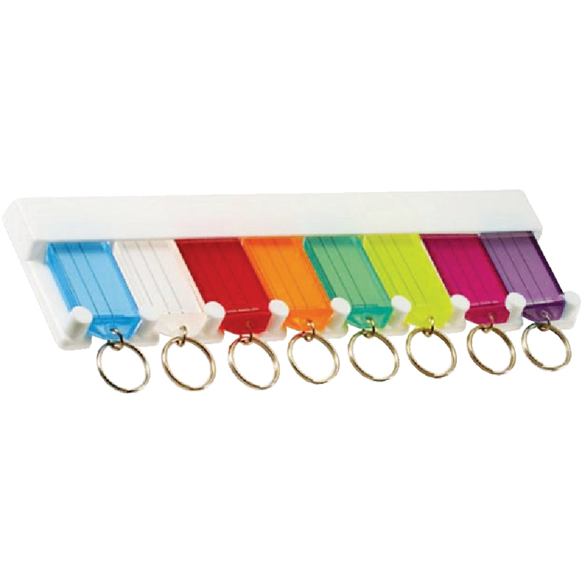 8-KEY TAG RACK - 60580 by Lucky Line Prod Inc