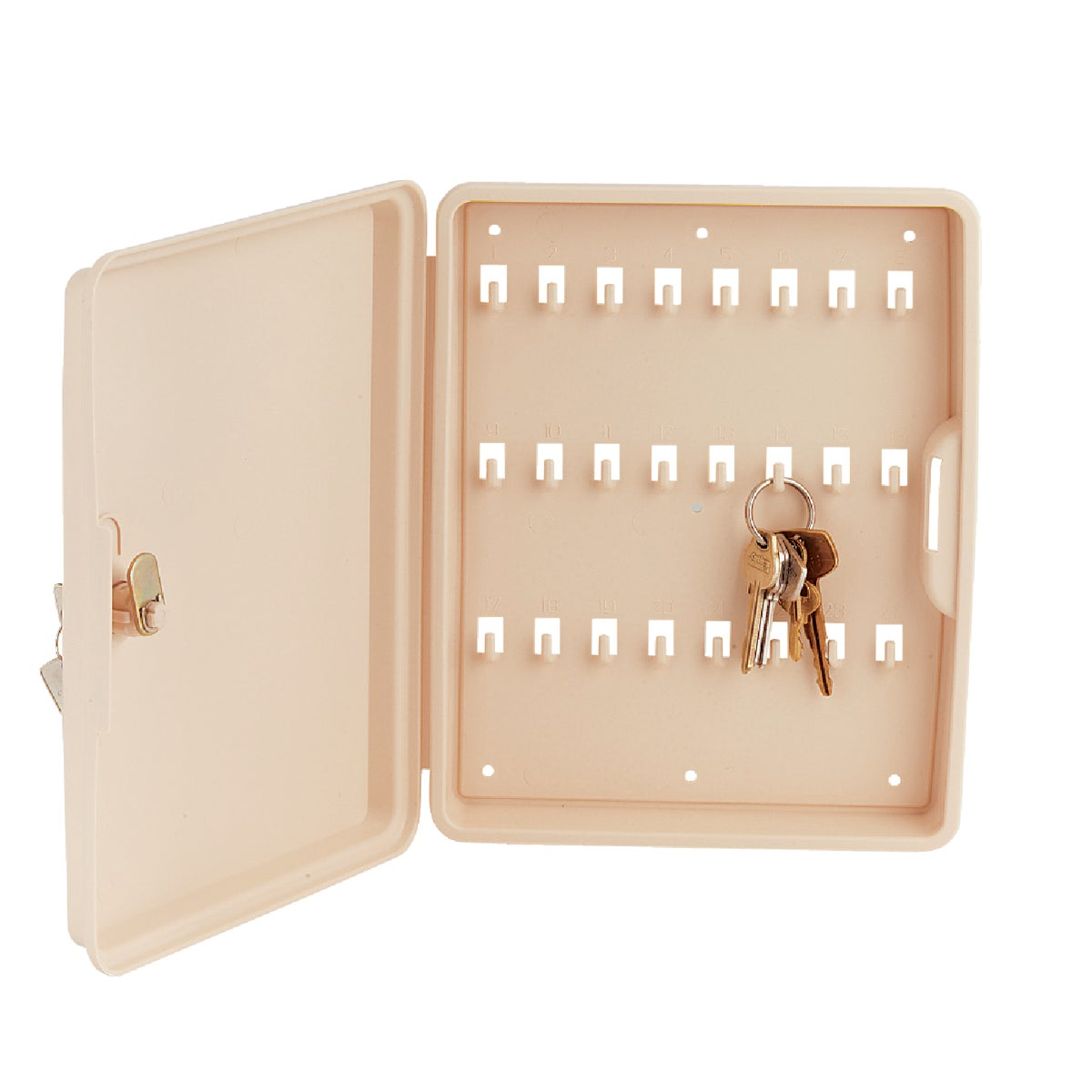 LOCKABLE KEY CABINET - 61200 by Lucky Line Prod Inc