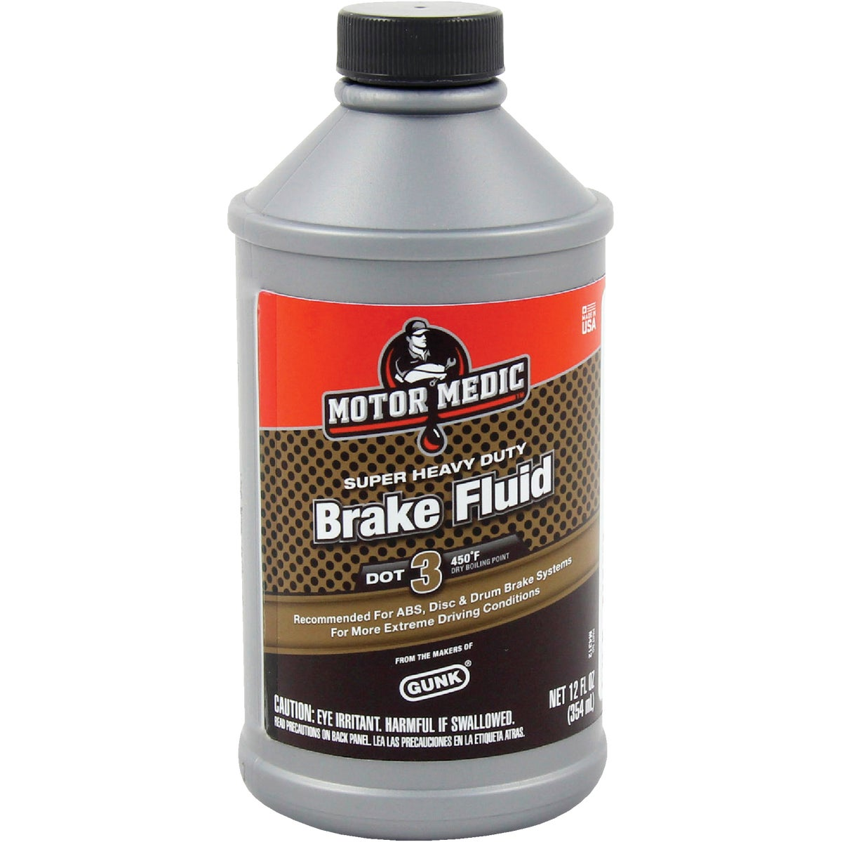 12OZ BRAKE FLUID - M4312 by Radiator Specialty