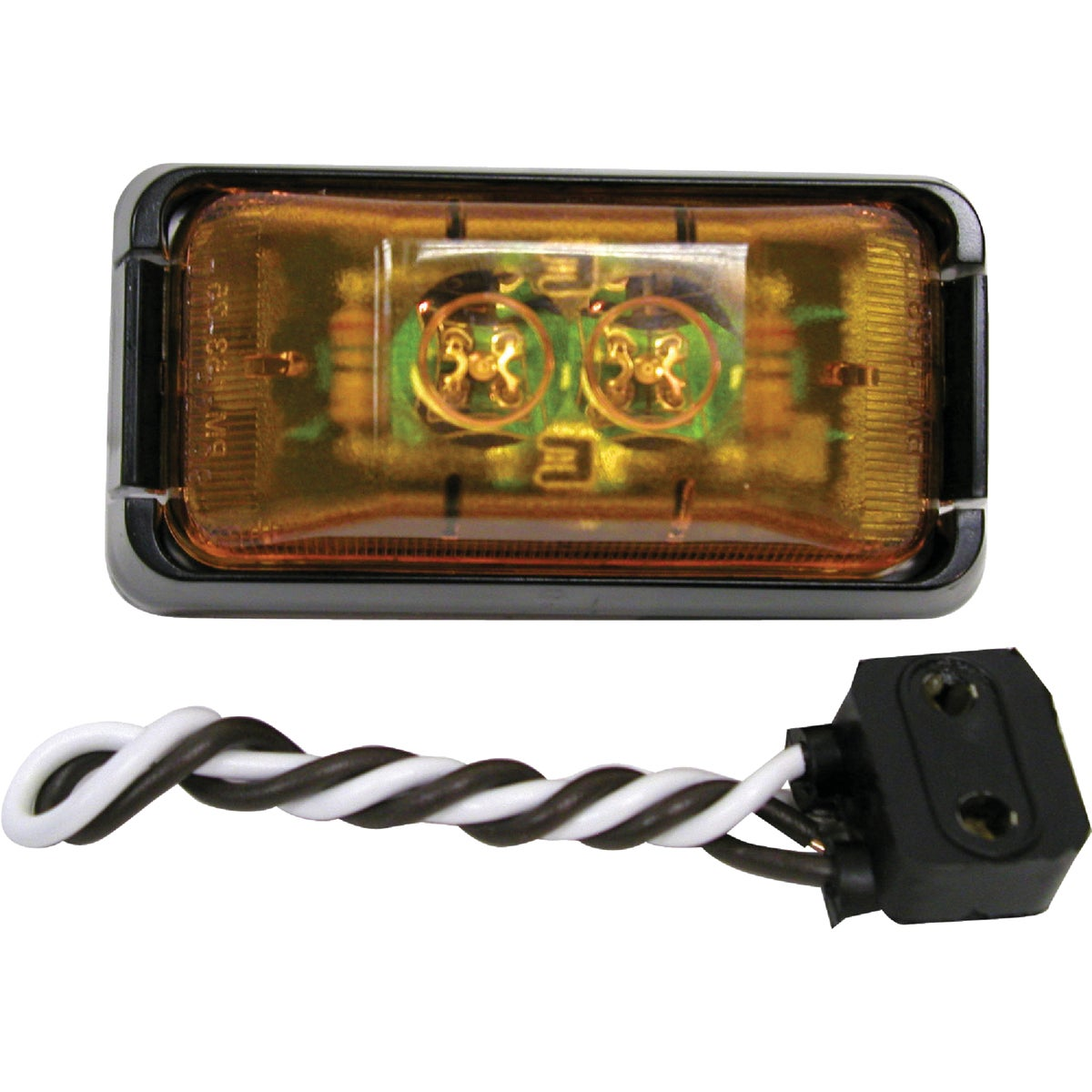 LED AMBER CLEARANCE KIT - V153KA by Peterson Mfg Co