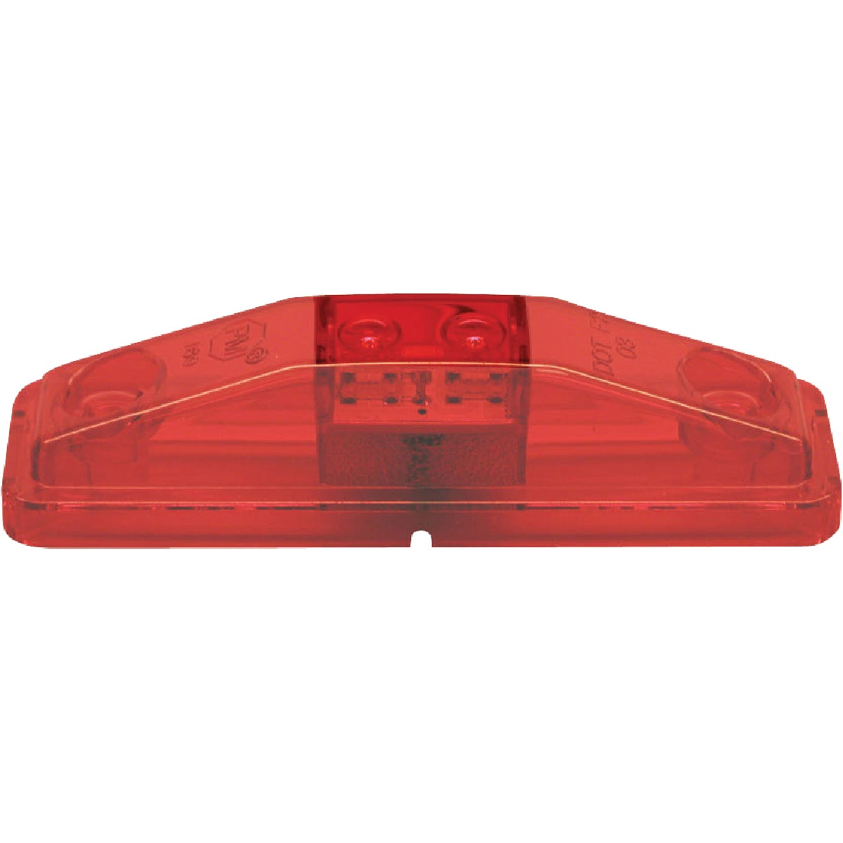 LED RED SIDE MARKER KIT - V169KR by Peterson Mfg Co
