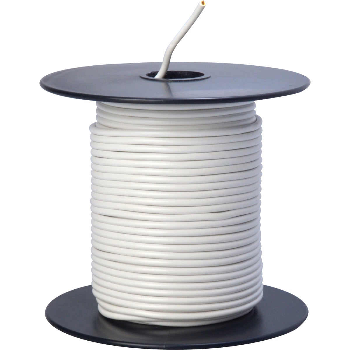 100' 18GA WHT AUTO WIRE - 18-100-17 by Woods Wire Coleman