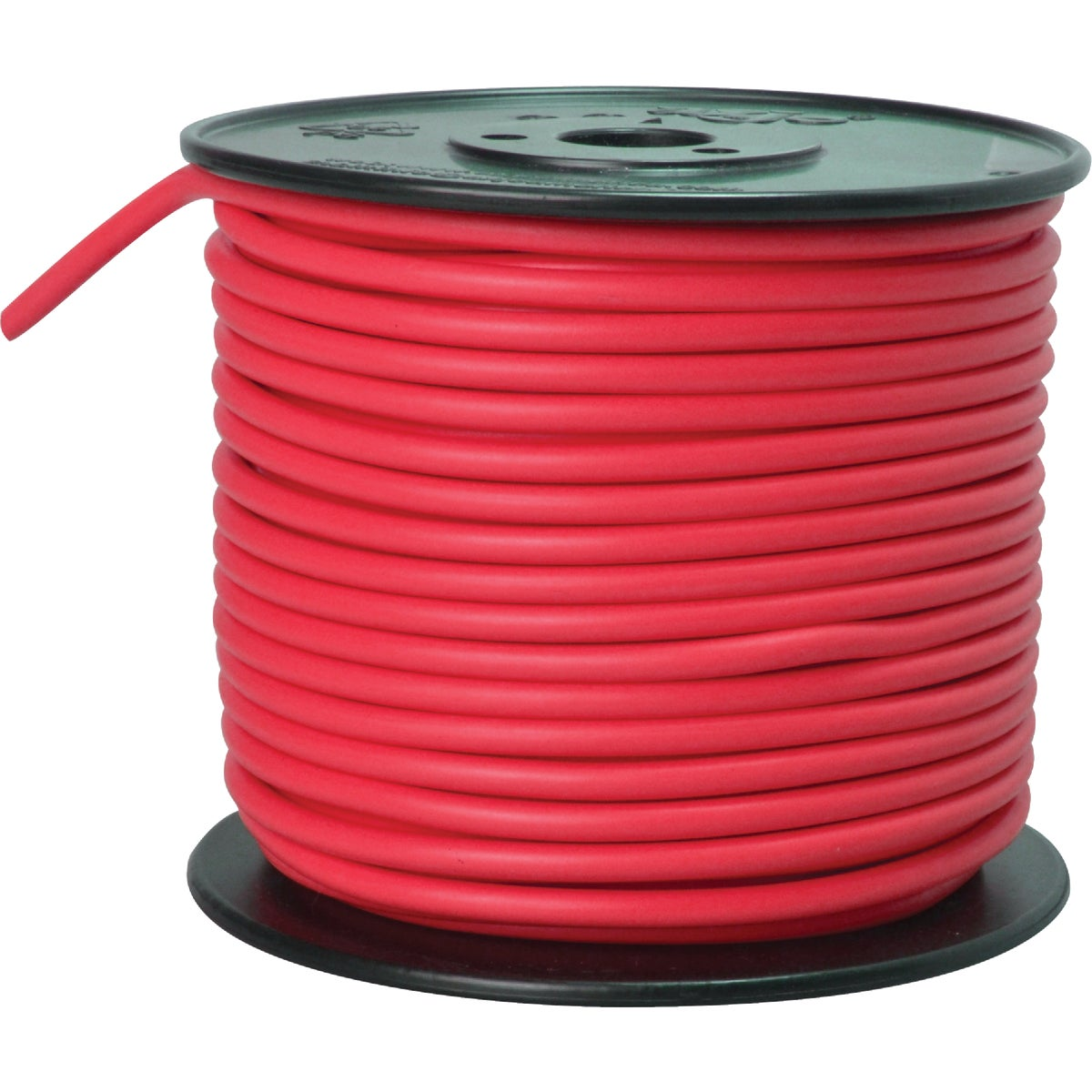 100' 10GA RED AUTO WIRE - 10-100-16 by Woods Wire Coleman