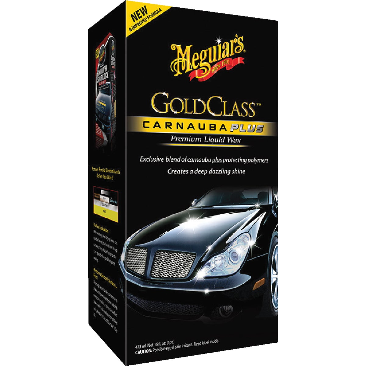 16Oz Liquid Car Wax