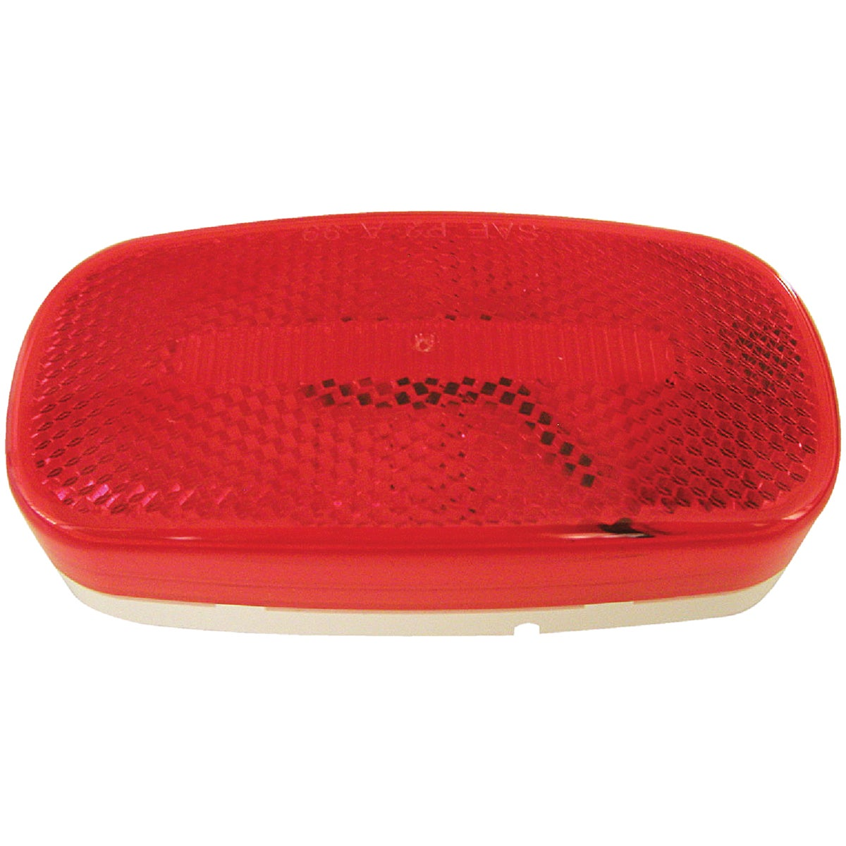 LED RED OVAL CLEAR LIGHT