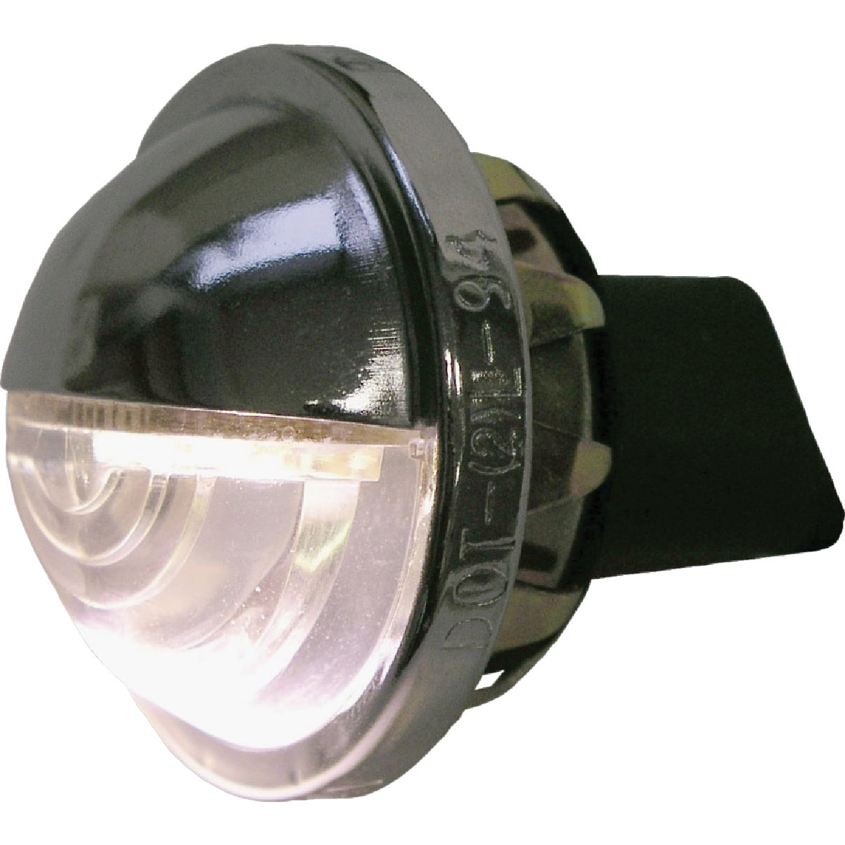 LED CHROME LICENSE LIGHT - V298C by Peterson Mfg Co