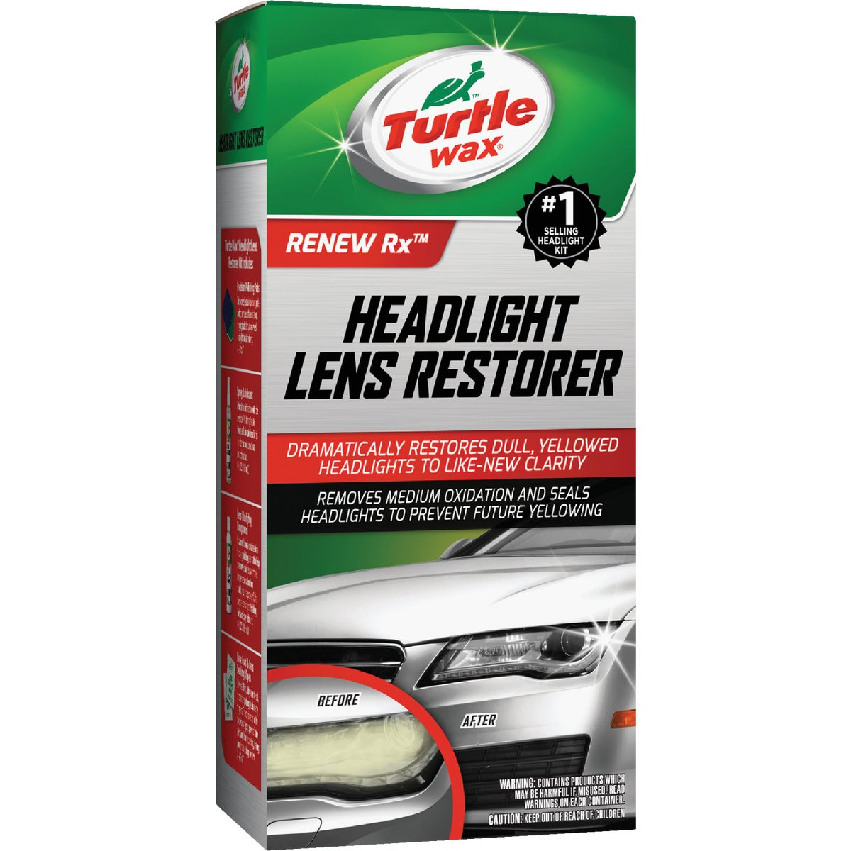 HEADLIGHT LENS RESTORER - T240KT by Turtle Wax Inc