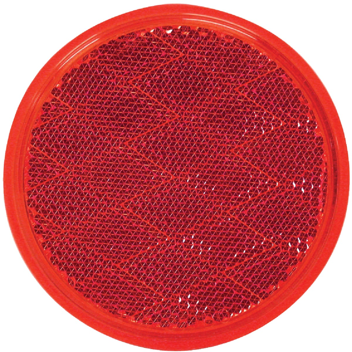 RED ROUND REFLECTOR - V475R by Peterson Mfg Co