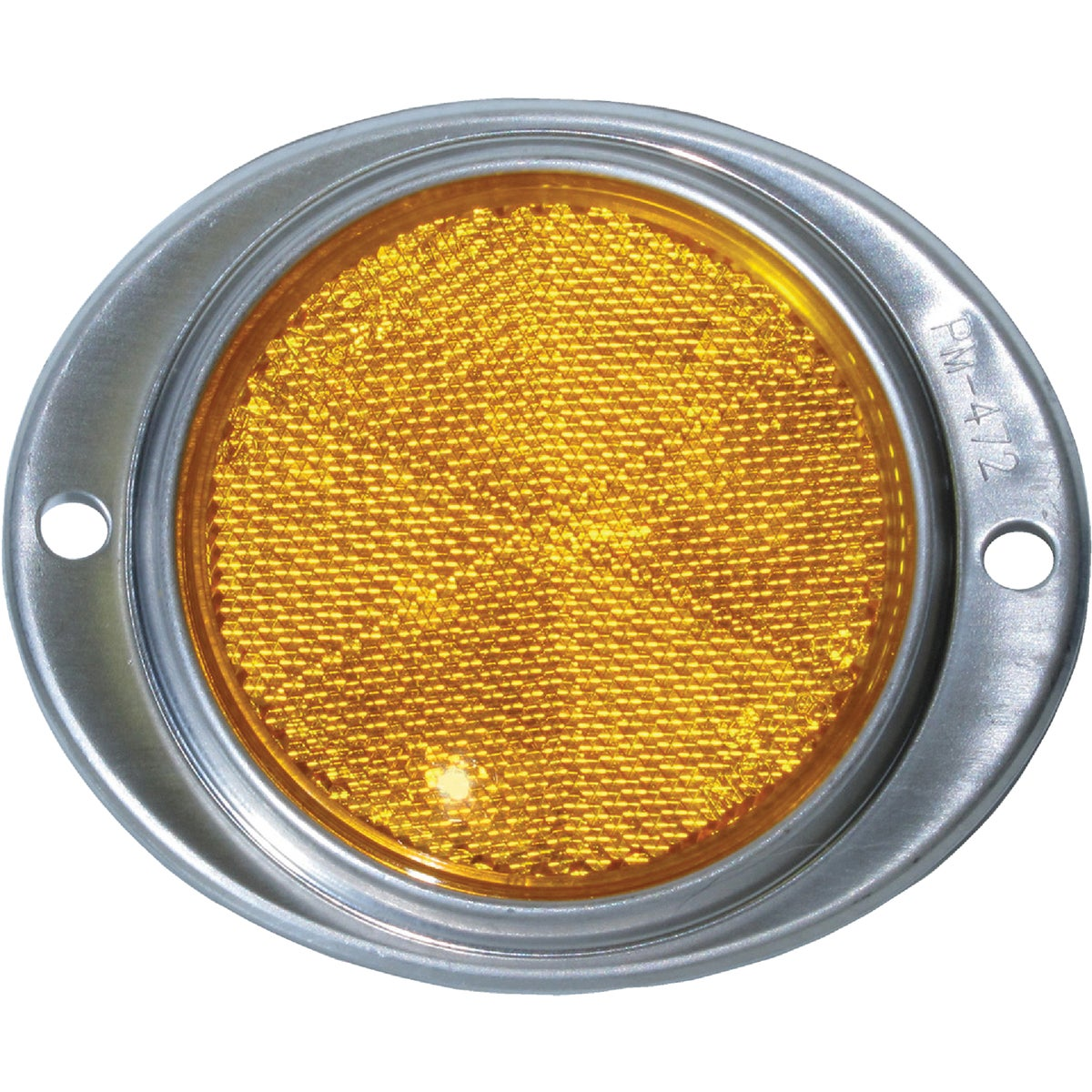 "3"" AMBER RND REFLECTOR - V472A by Peterson Mfg Co"