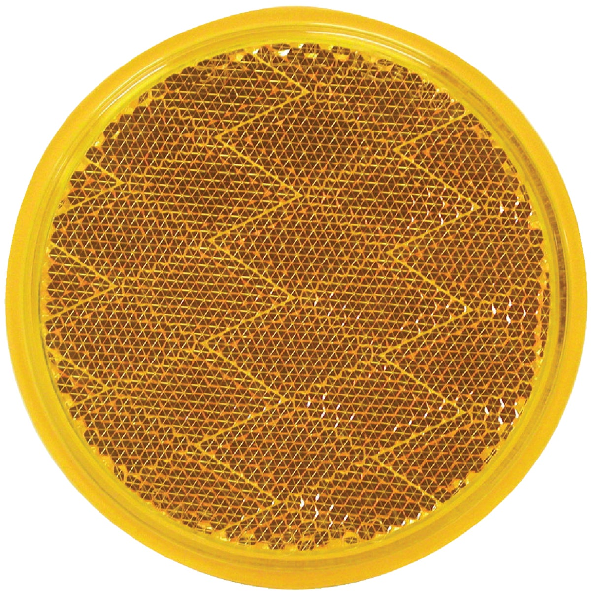 AMBER ROUND REFLECTOR - V475A by Peterson Mfg Co