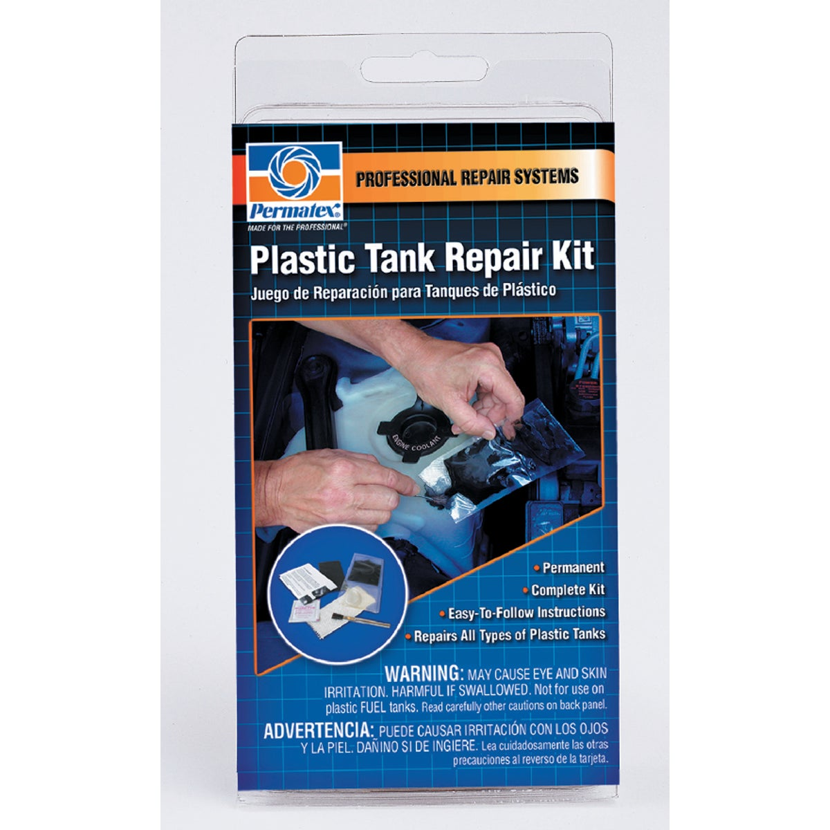 PLASTIC TANK REPAIR KIT - 09100 by Itw Global Brands