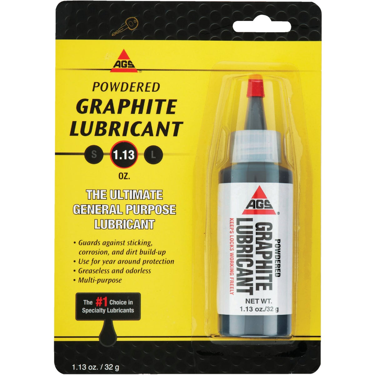 1.13OZ POWDER GRAPHITE - MZ-5 by A G S Company