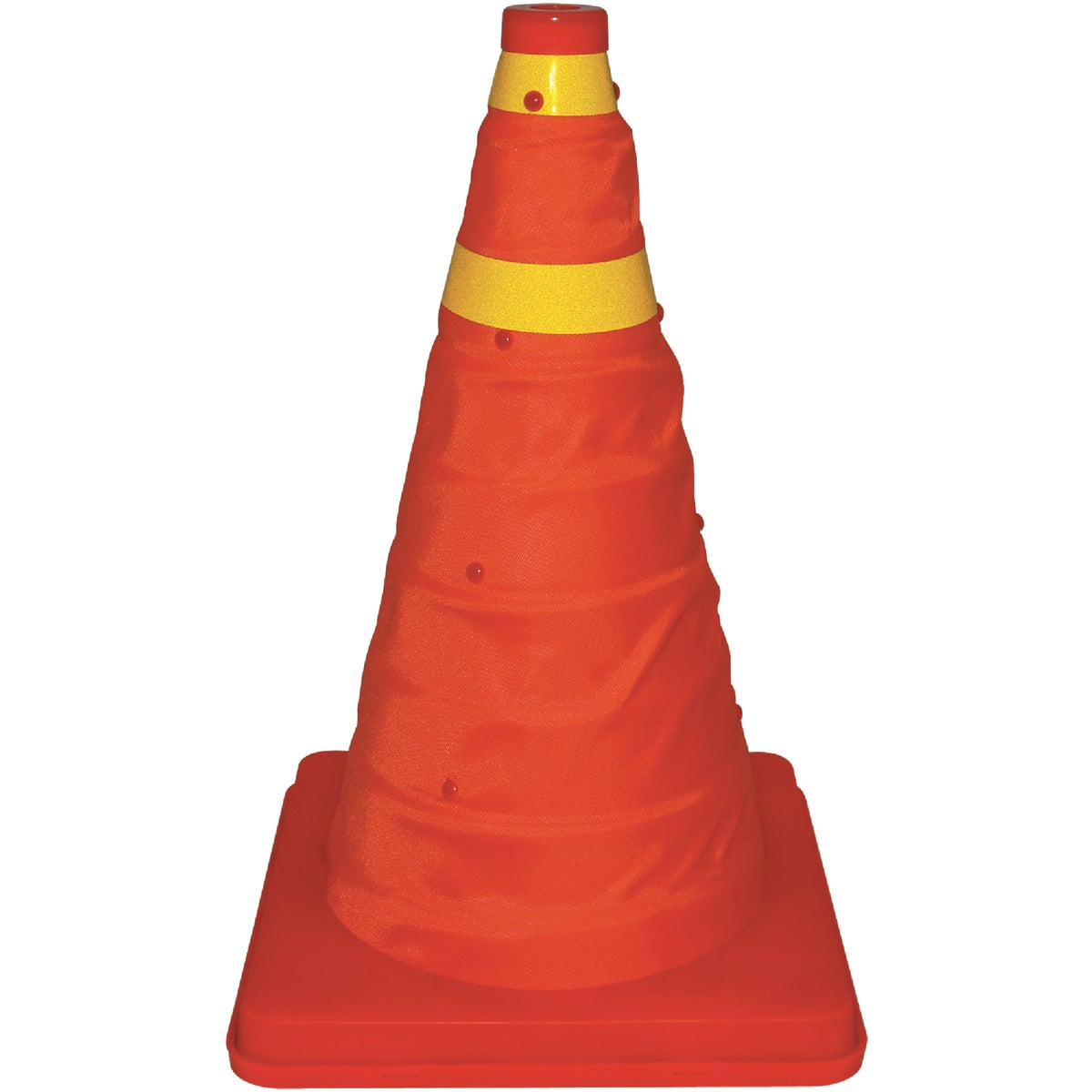 "16"" COLLAP SAFETY CONE - 22-5-00238-8 by Bell Automotive Prod"