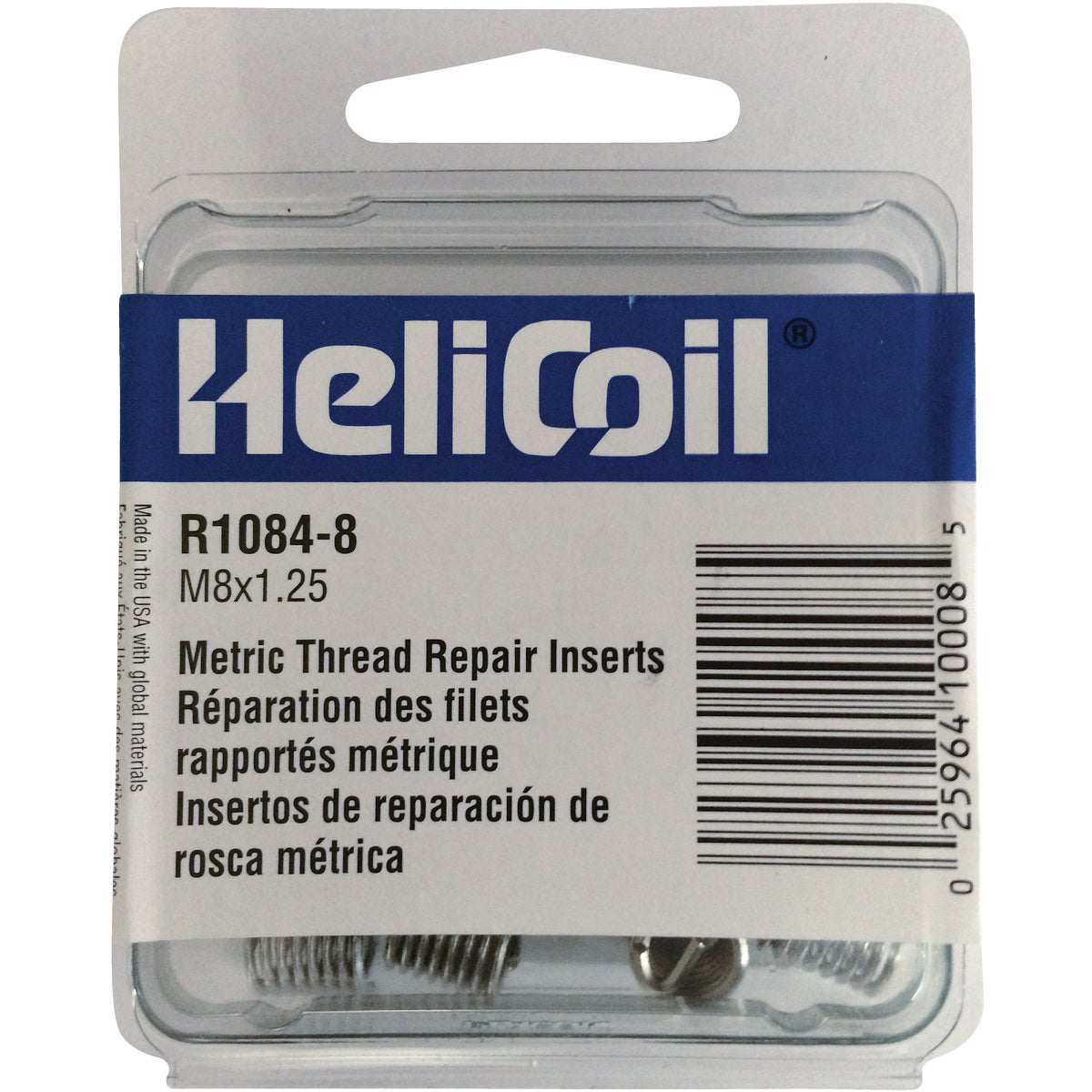 M8X1.25 THREAD REPAIR - R1084-8 by Helicoil Div Emhart