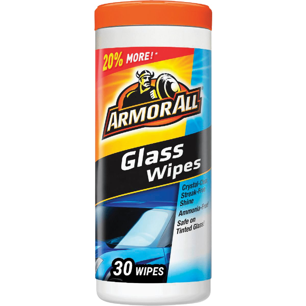 25CT GLASS WIPES