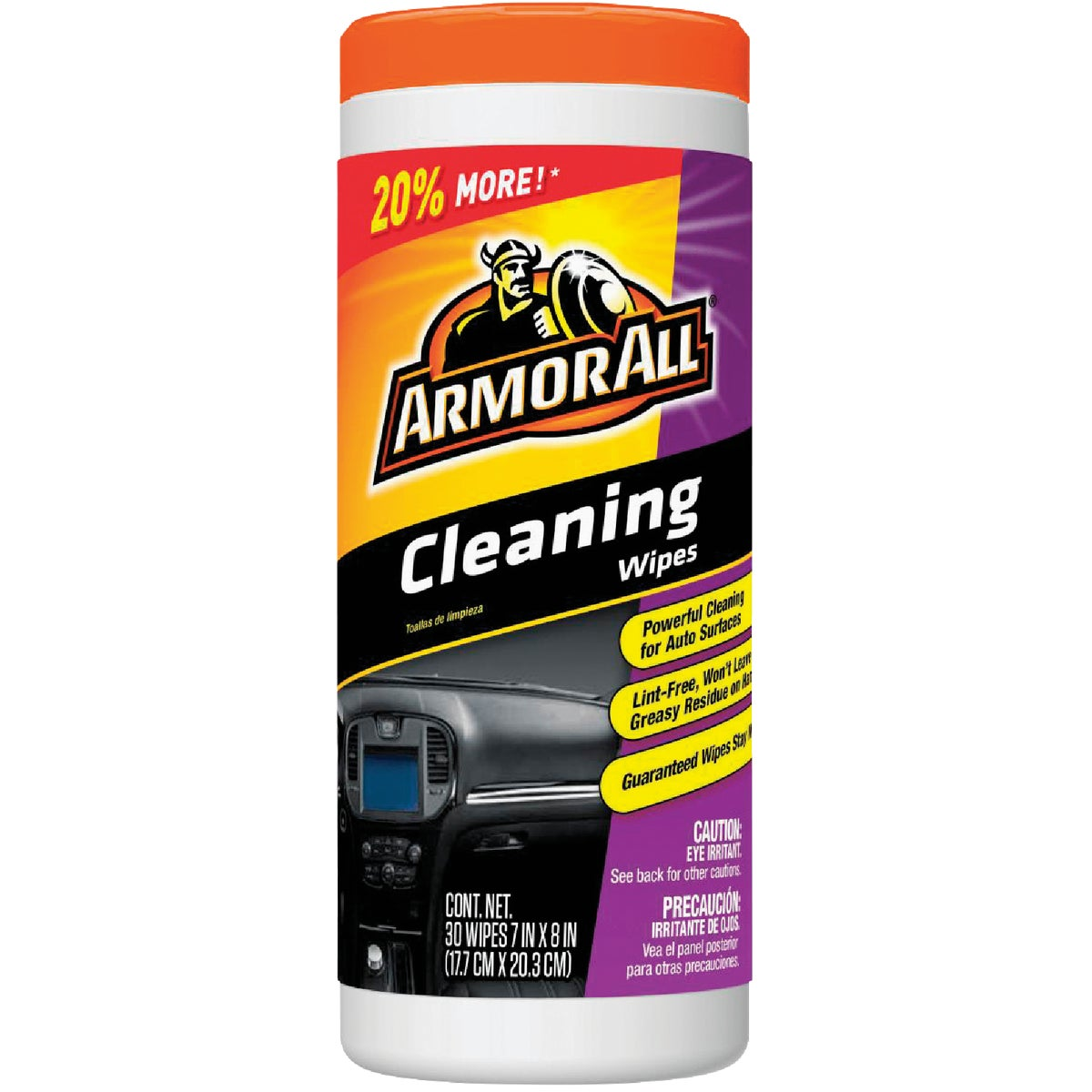 Armor All Cleaning Multi-Purpose Wipes