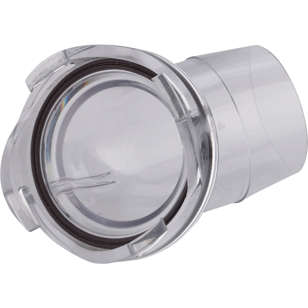 CLEAR 45D HOSE ADAPTER