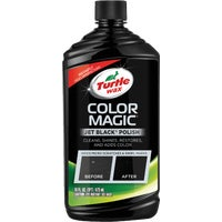 Turtle Wax 16OZ KIT BLACK AUTO WAX T374KTR