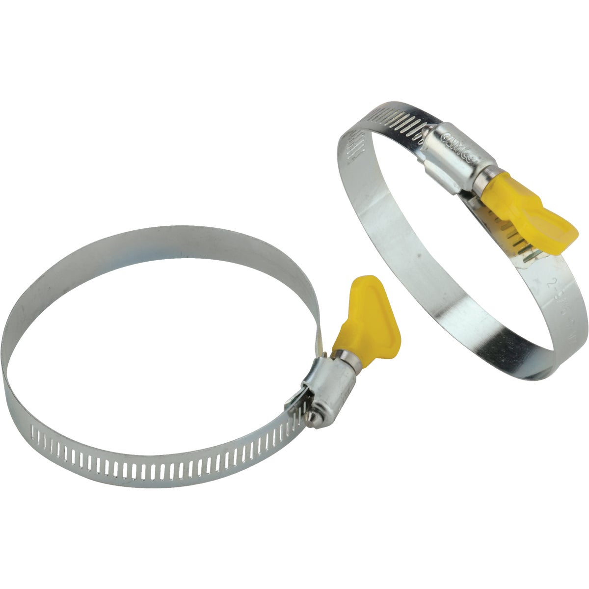 2PK RV SEWER HOSE CLAMPS - 39553 by Camco Mfg.
