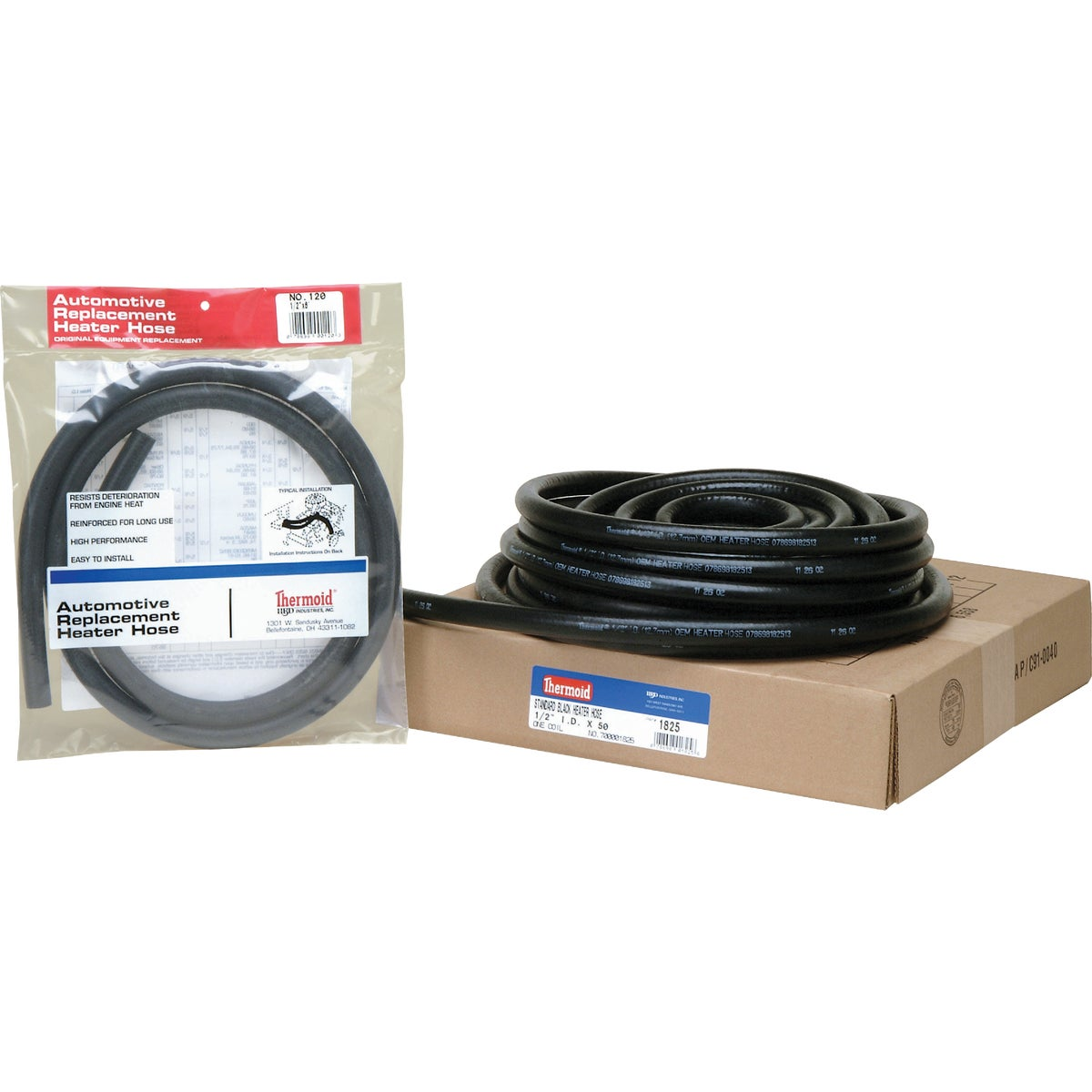 "1/2""X6' BLK HEATER HOSE - 120 by H B D Industries Inc"