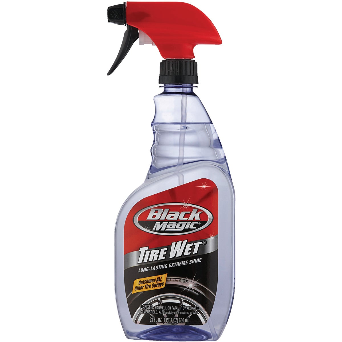 23OZ SPRAY TIRE SHINE - BM23 by Itw Global Brands