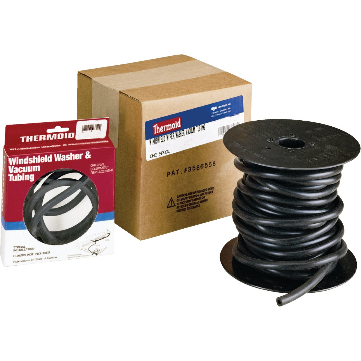 "7/64"" WNDSHLD WASHR HOSE - 333950 by H B D Industries Inc"