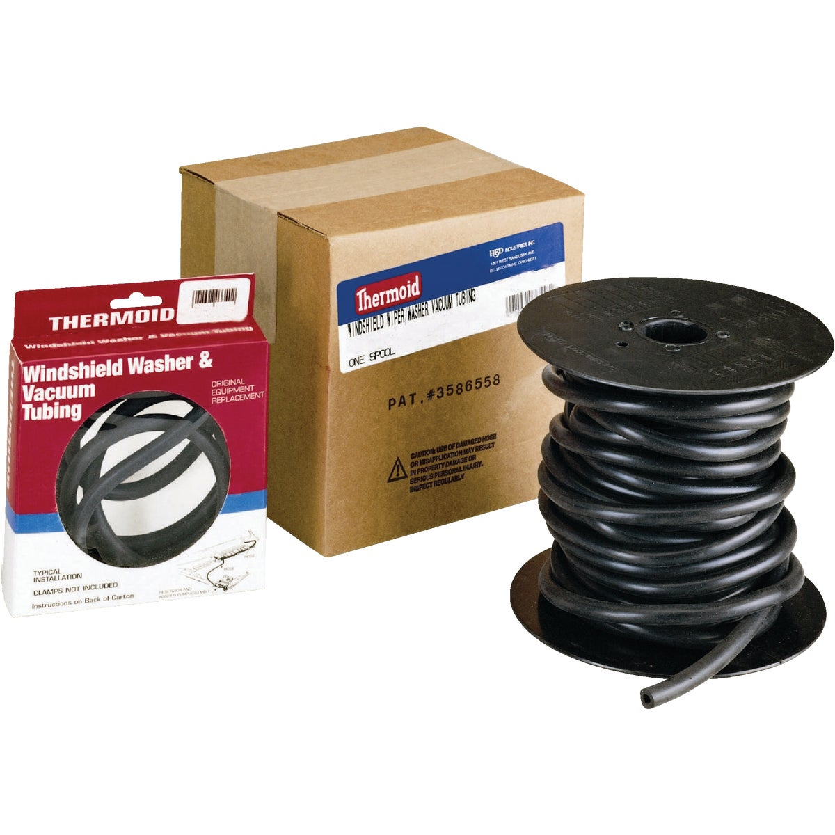 "7/32"" WNDSHLD WASHR HOSE - 334150 by H B D Industries Inc"