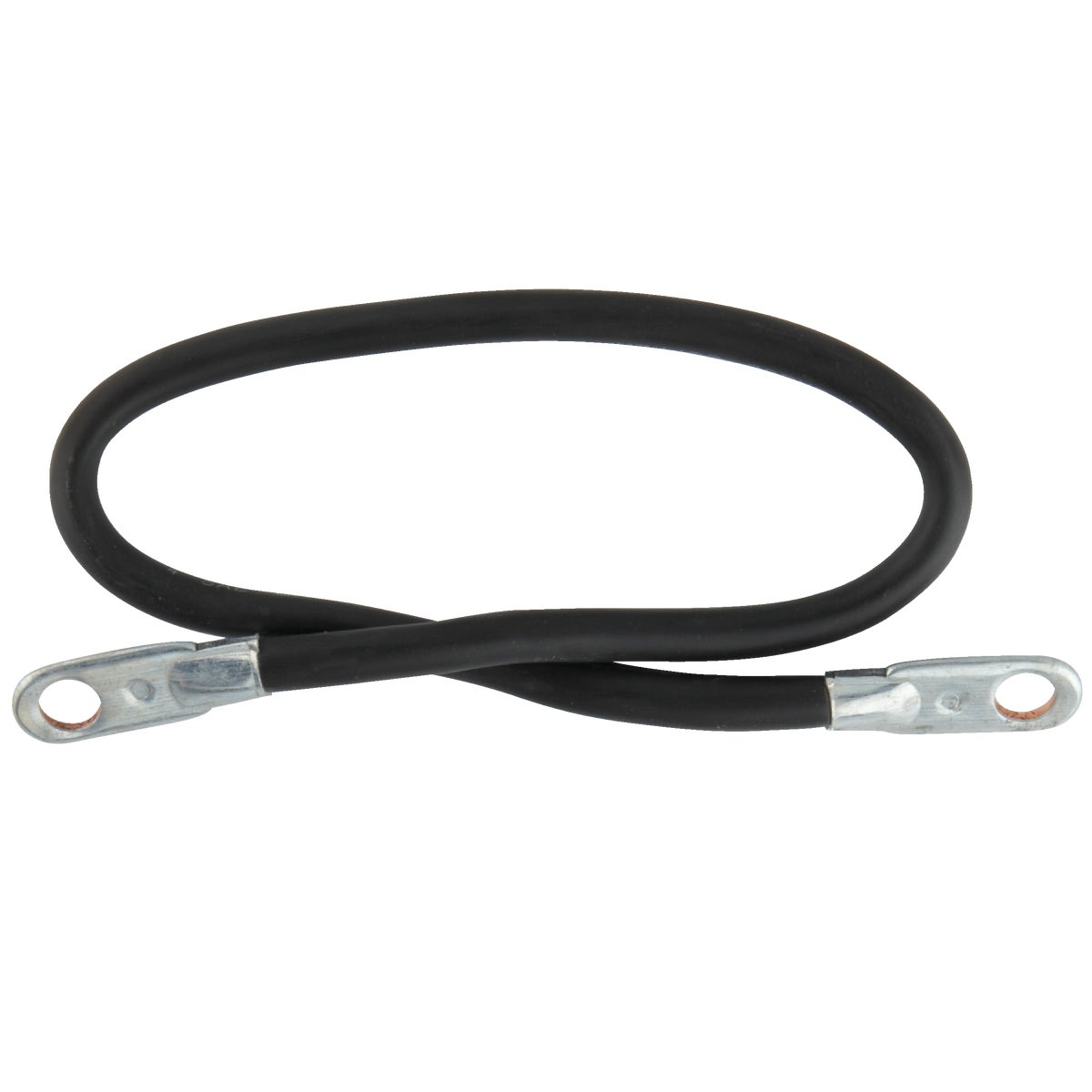 "19"" 4G S/S BATTERY CABLE - SS19-4 by Woods Wire Coleman"