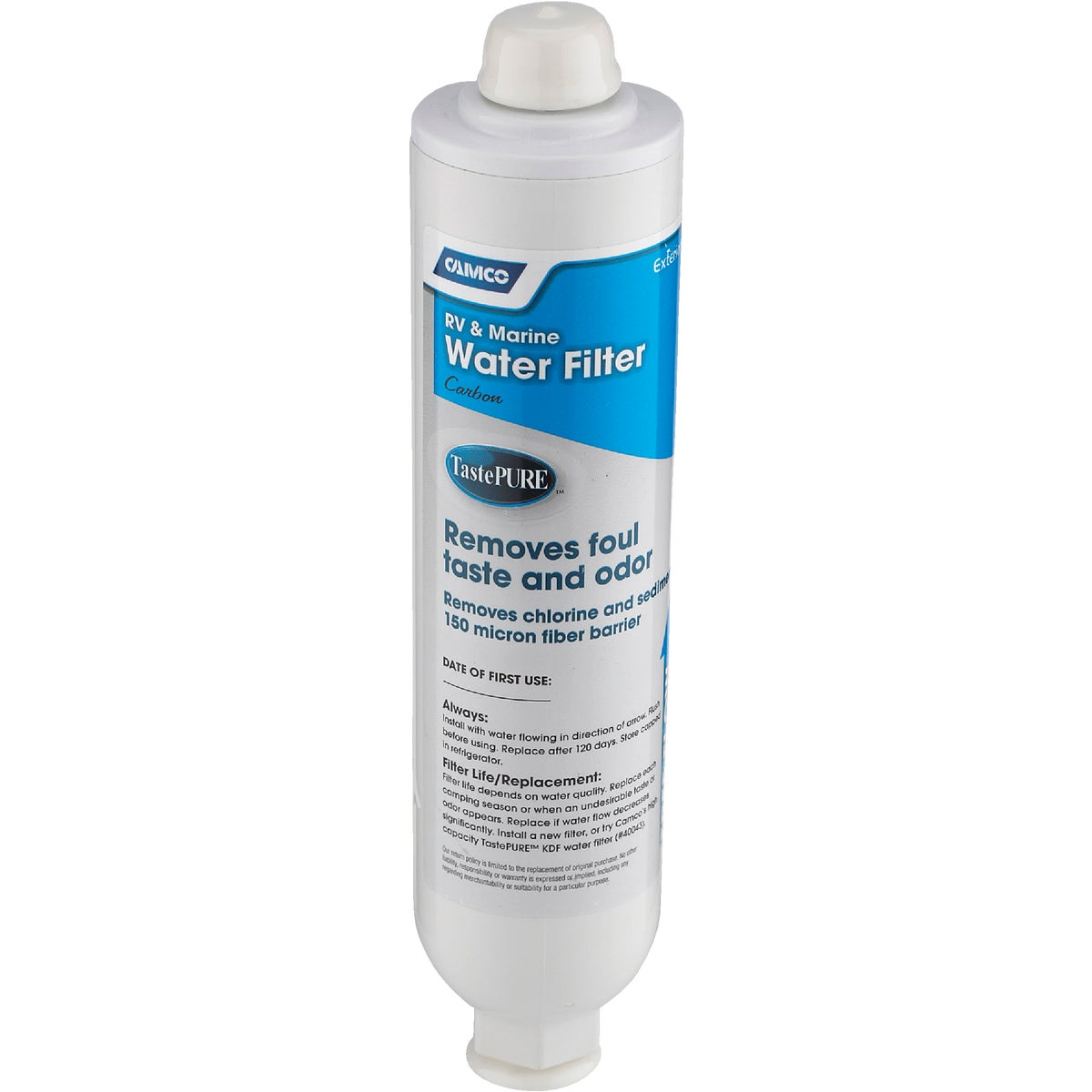 RV/MARINE WATER FILTER - 40645 by Camco Mfg.