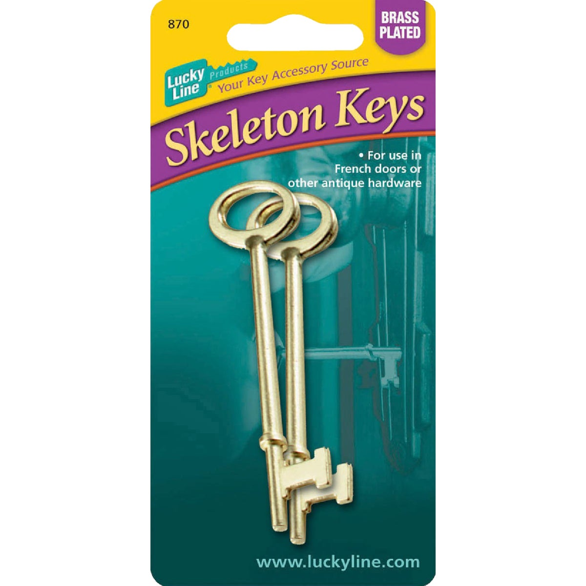 2PK SKELETON KEY - 87002 by Lucky Line Prod Inc
