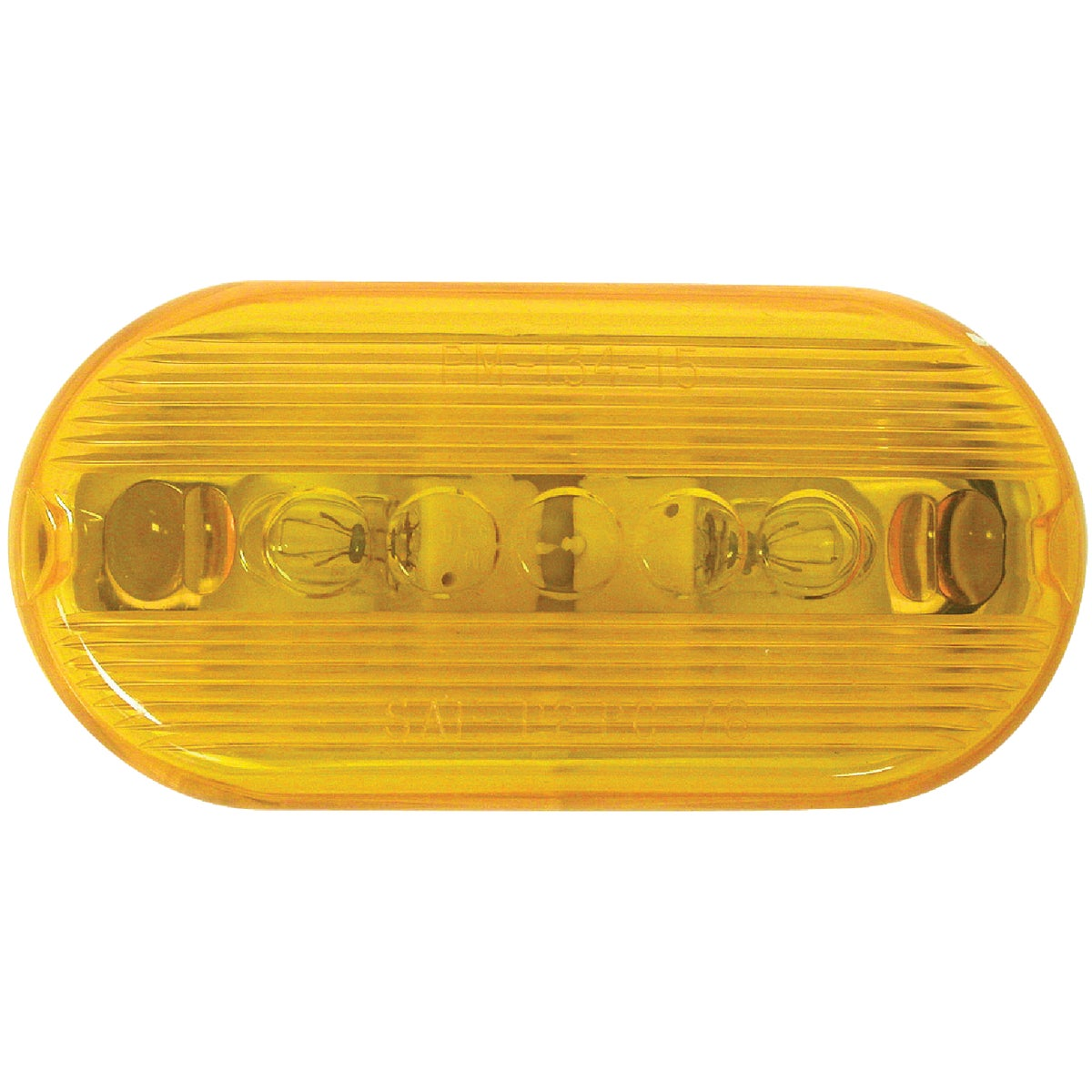 AMBER CLEARANCE LIGHT - V135A by Peterson Mfg Co