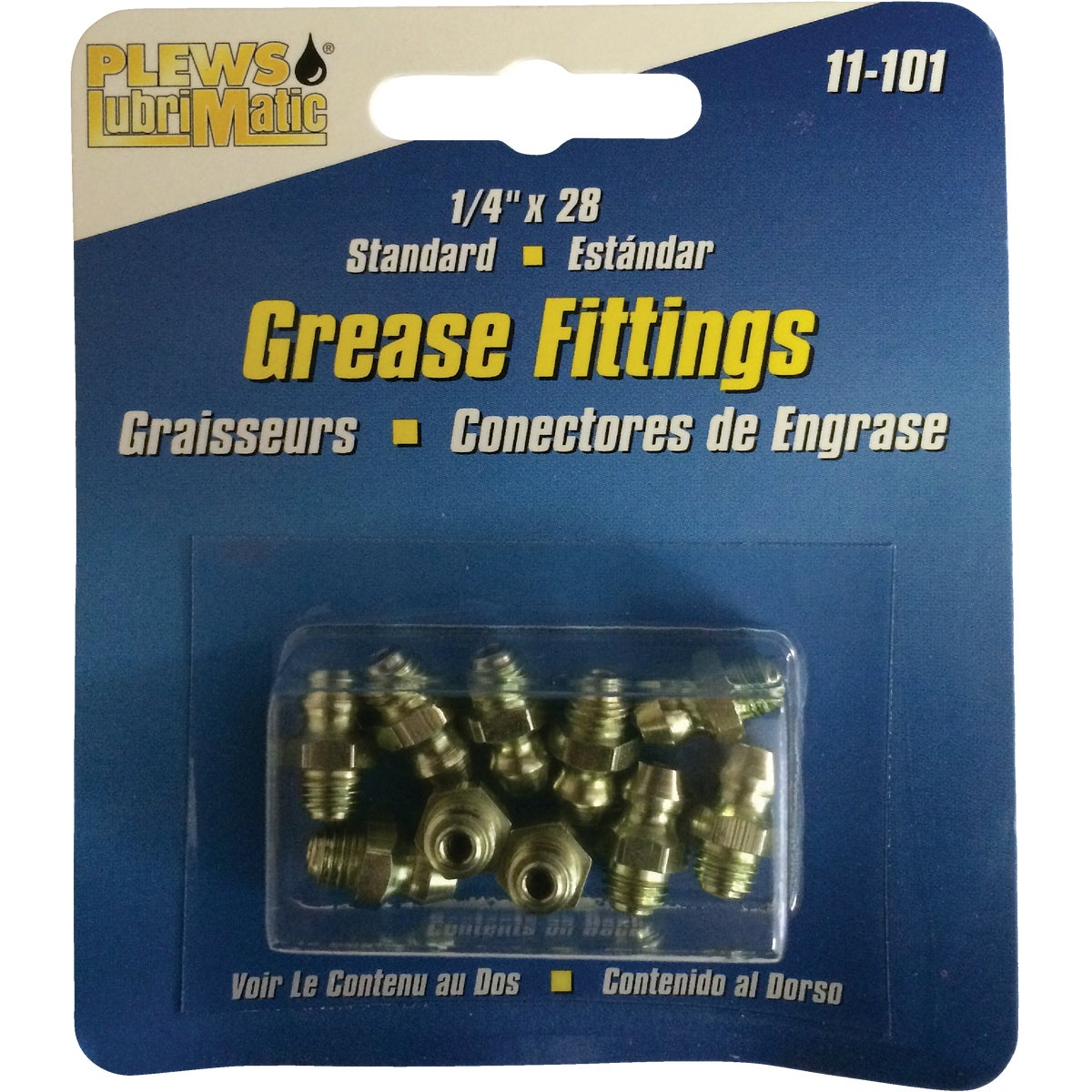 Plews LubriMatic Grease Fitting, 11-101