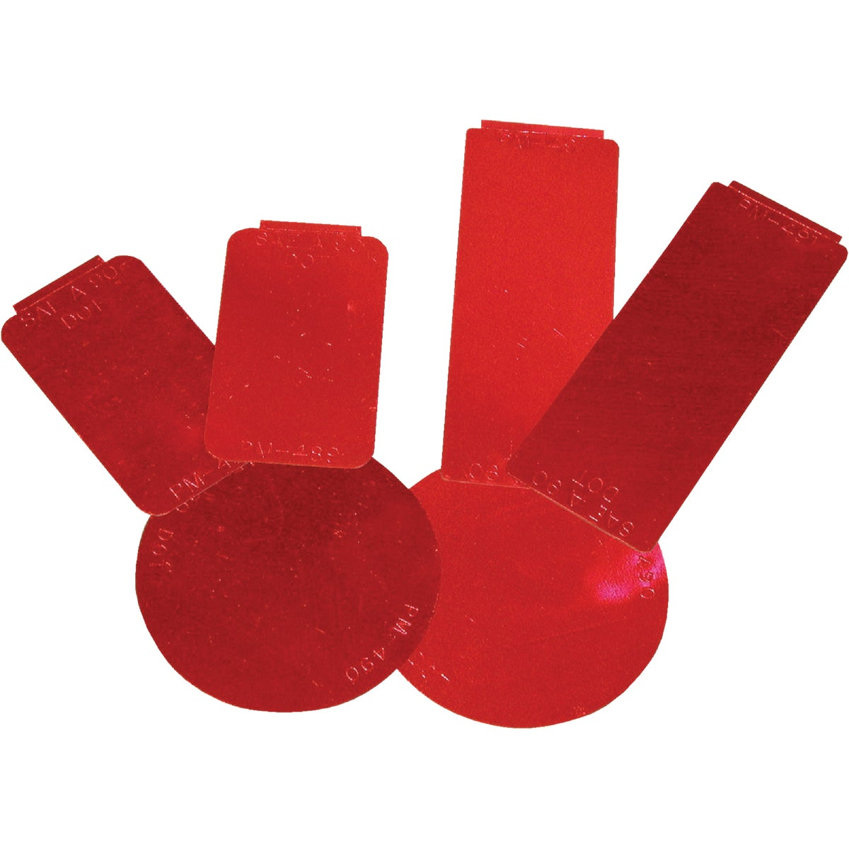 RED REFLECTOR KIT - V493KR by Peterson Mfg Co