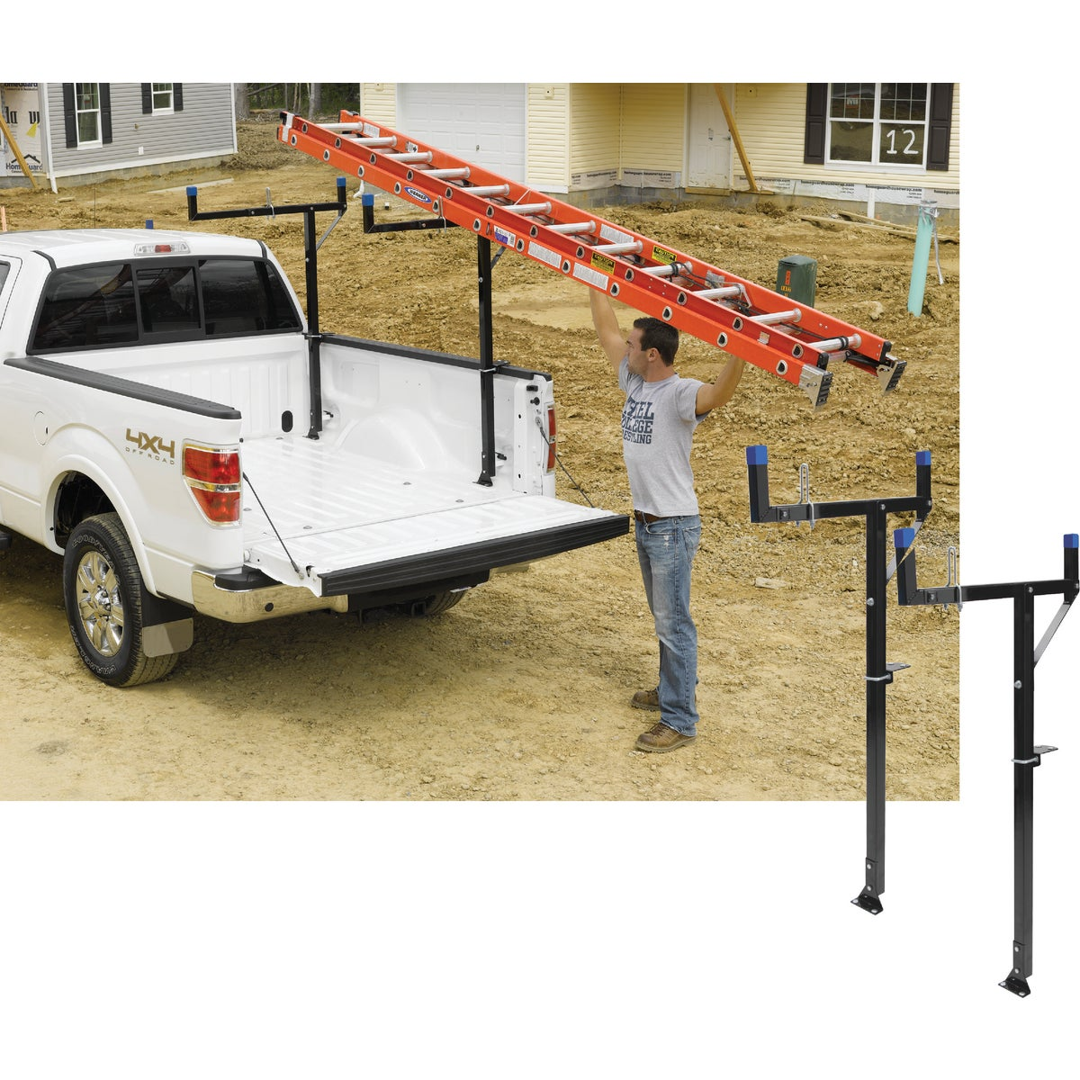 BLACK TRUCK RACK - TR401-S by Werner Ladder