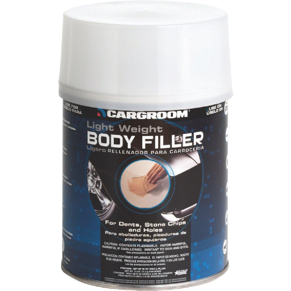 Body Filler With Hardener, Quart