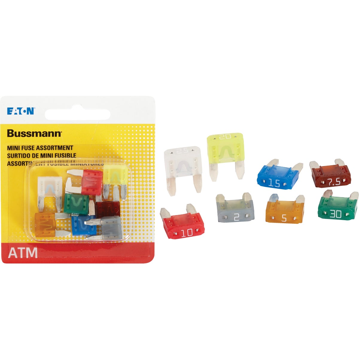8PK ATM FUSE ASSORTMENT - BP/ATM-A8-RP by Bussmann Cooper