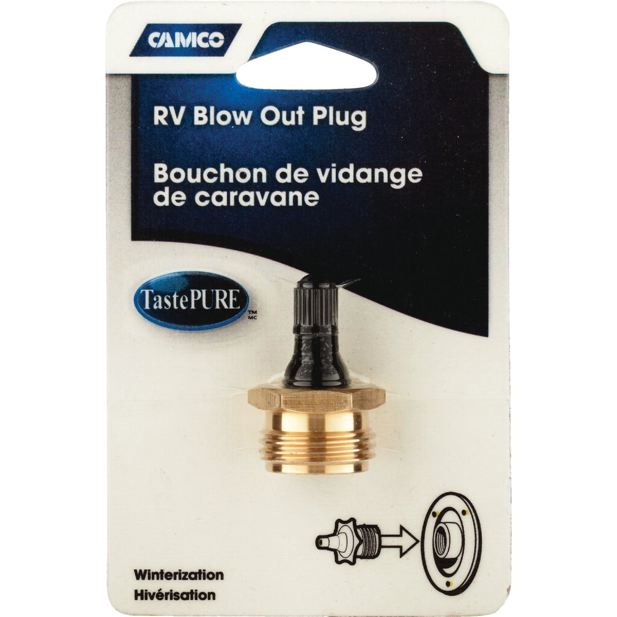 RV ALUM BLOW OUT KIT