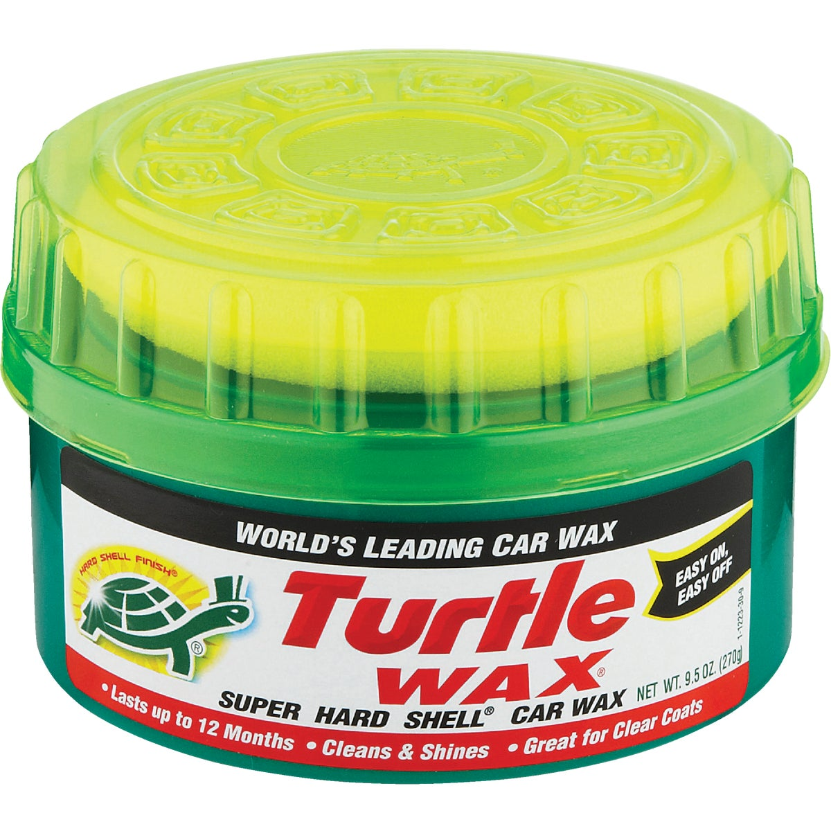 9.5OZ PASTE AUTO WAX - T223R by Turtle Wax Inc