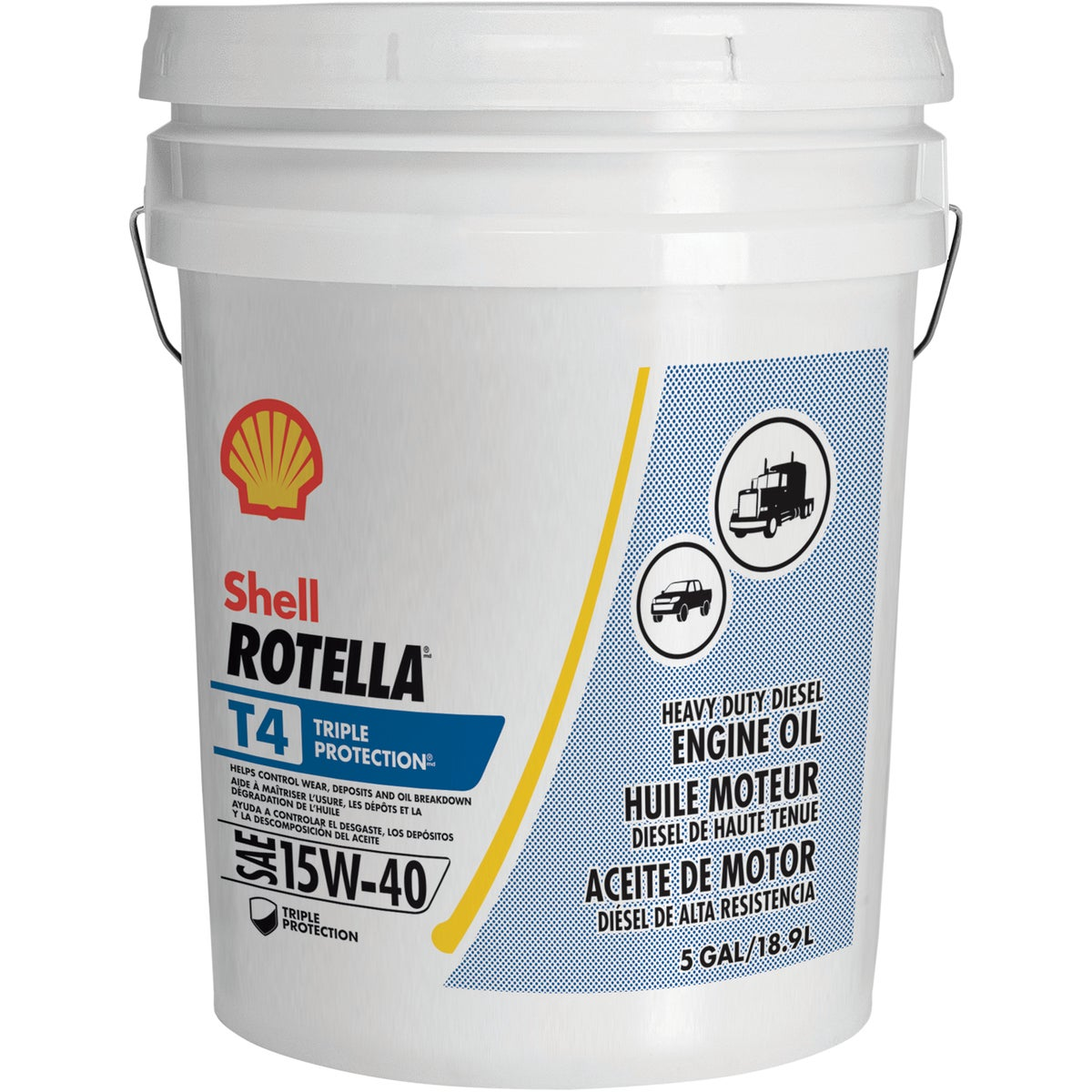 5GAL HD 15W40 MOTOR OIL