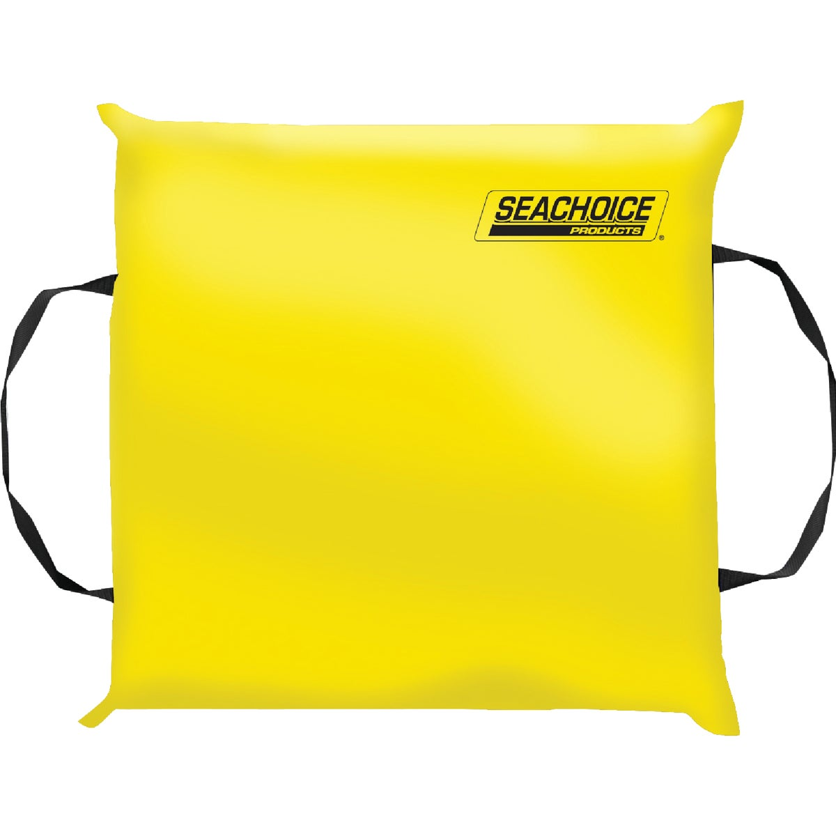YELLOW THROW CUSHION