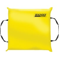 Seachoice Prod YELLOW THROW CUSHION 44900