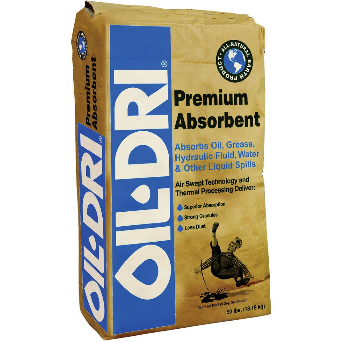 50LB OIL-DRY ABSORBENT