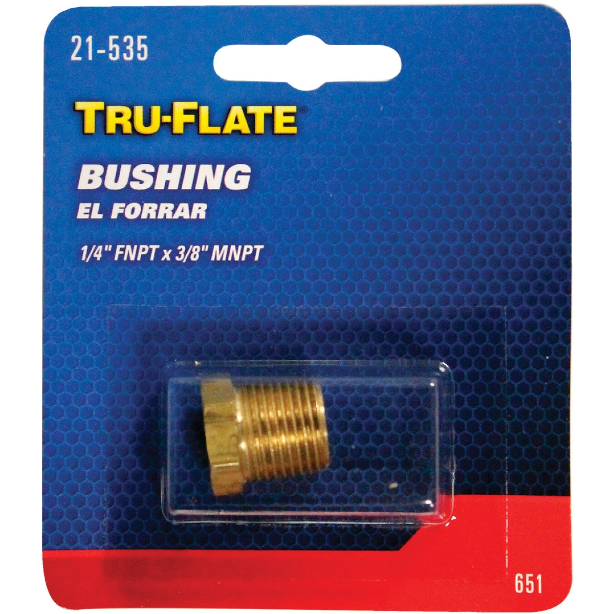 1/4-3/8 FEMALE BUSHING