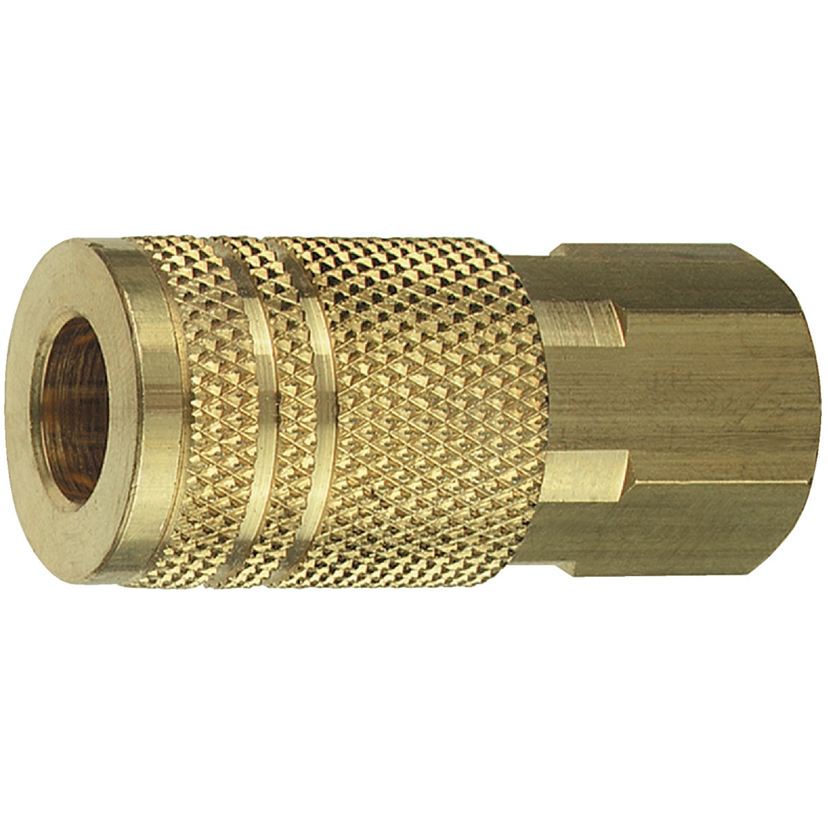 "1/4"" I/M FEMALE COUPLER - 13-235 by Plews  Lubrimatic"