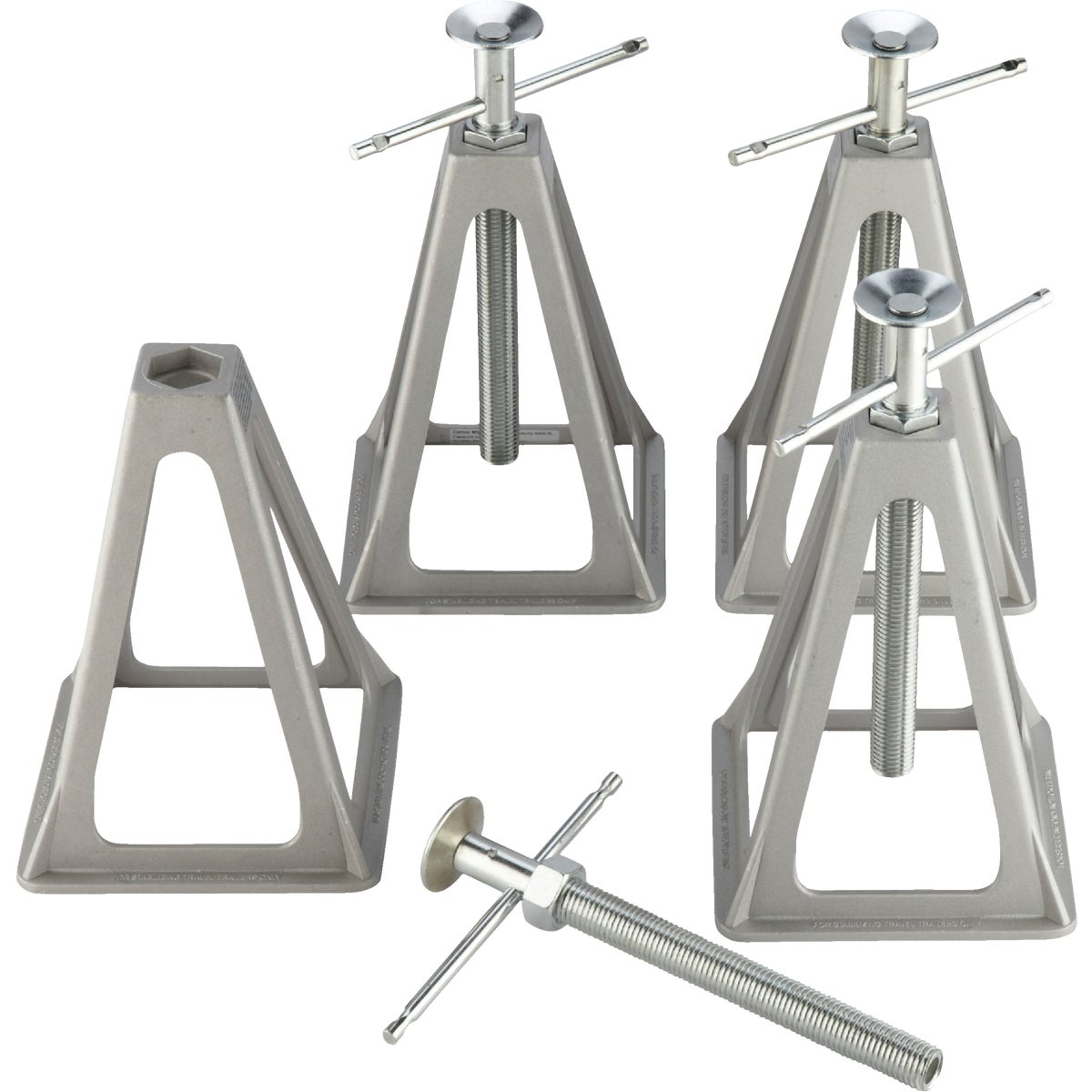 4 PK ALUMINUM JACK STAND - 44560 by Camco Mfg.