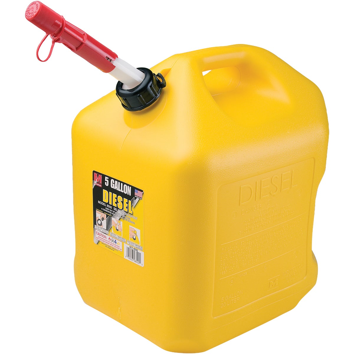 5 GALLON DIESEL CAN - 85056 by Plastics Group