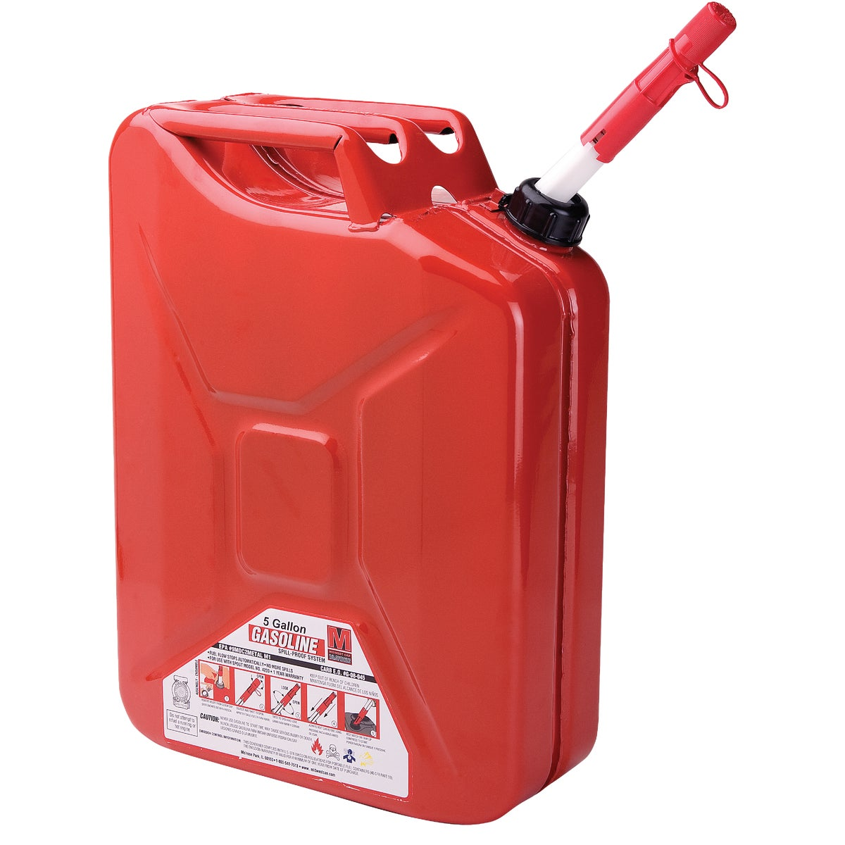 5 GALLON CARB JERRY CAN - 85043 by Plastics Group