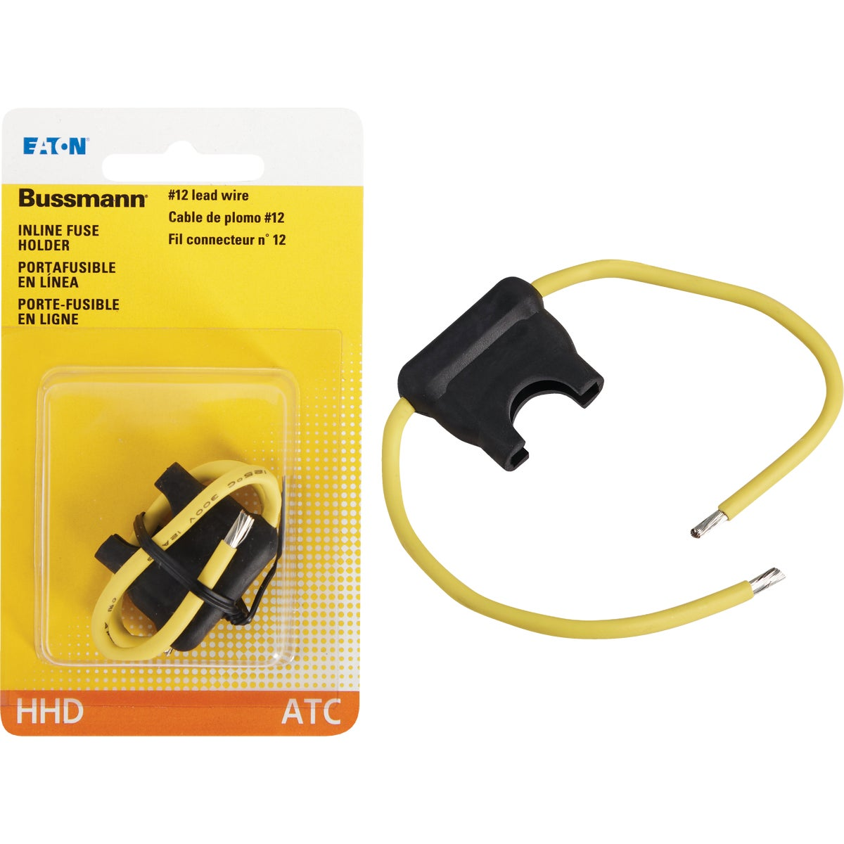 BLK BLADE FUSE HOLDER - BP/HHD-RP by Bussmann Cooper