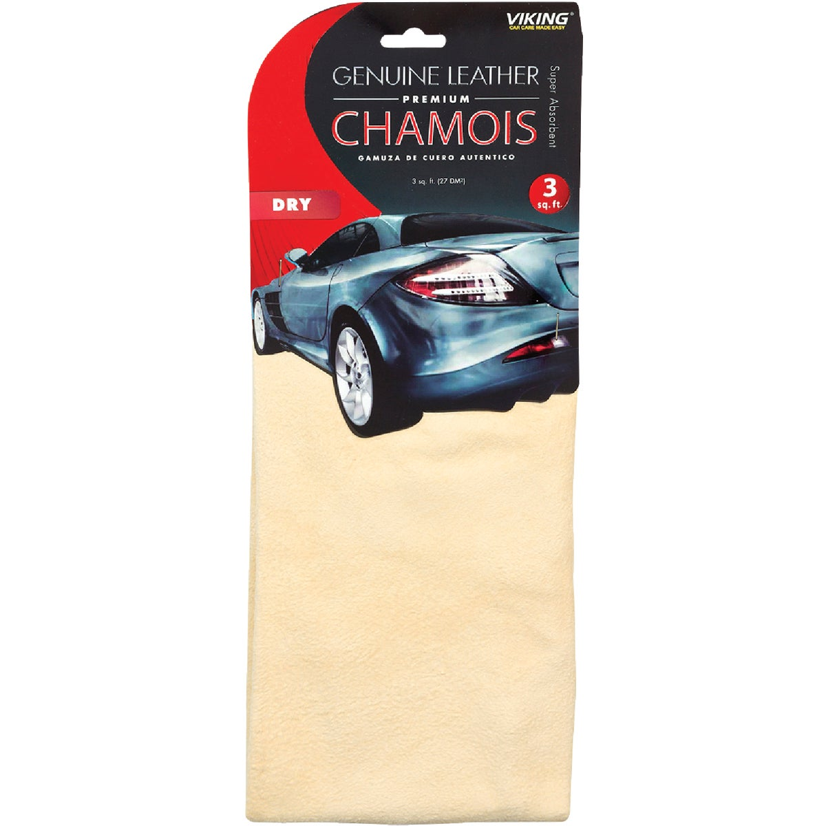 3SQ FT CHAMOIS