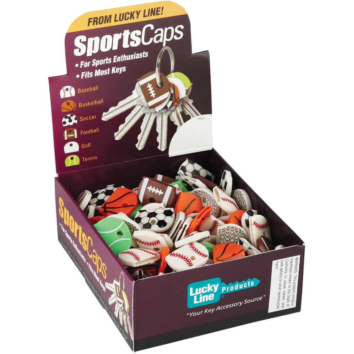 200 CT BOX SPORTS CAPS